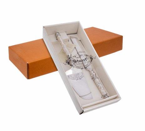 купить Набор сервировочный для торта, металл, перламутр, Англия, 1990-2010 гг.