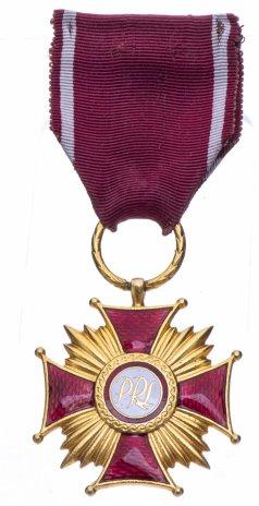 купить Польша Знак отличия золотой «Крест Заслуги» 1 степени