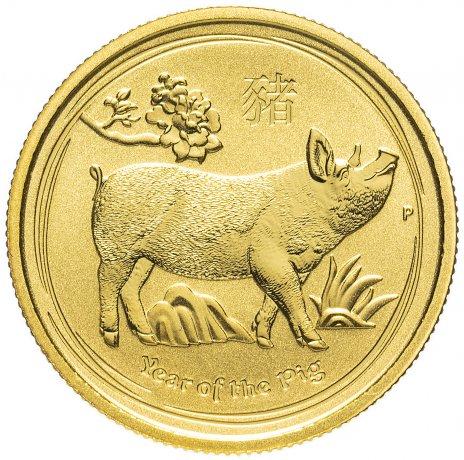 купить Австралия 25 долларов (Dollars) 2019 - Год свиньи (Elizabeth II Year of the Pig)