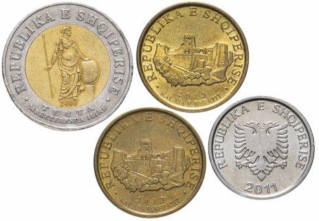 купить Албания набор из 4-х монет 2000-2013