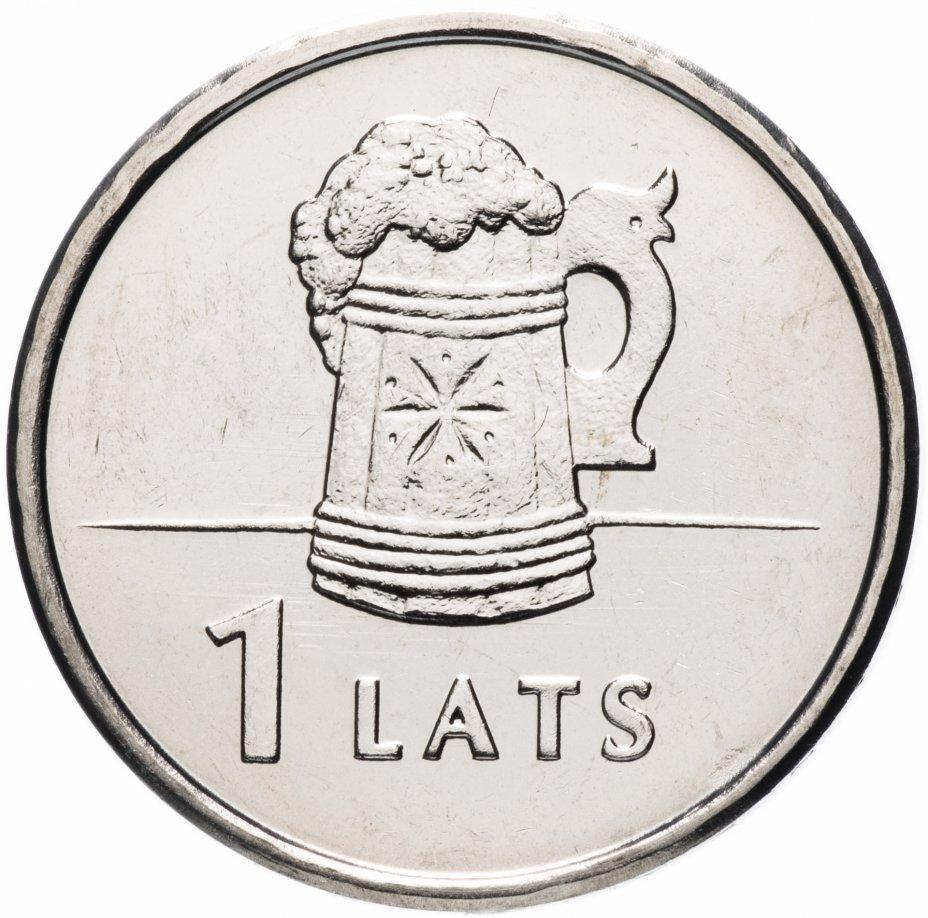 """купить Латвия 1 лат 2011 """"Кружка"""""""