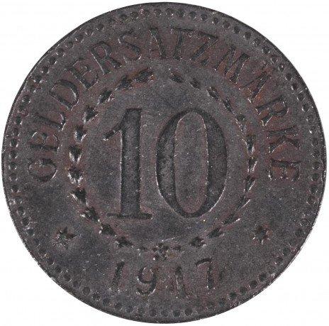 купить Германия Виттенберг нотгельд 10 пфеннигов 1917
