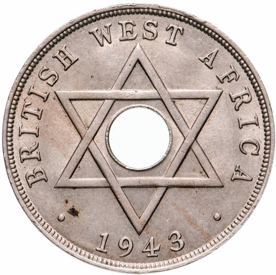 купить Британская Западная Африка 1 пенни (penny) 1943