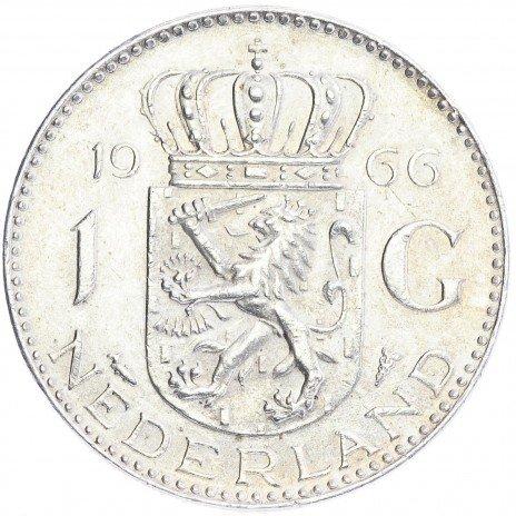 купить Нидерланды 1 гульден 1966