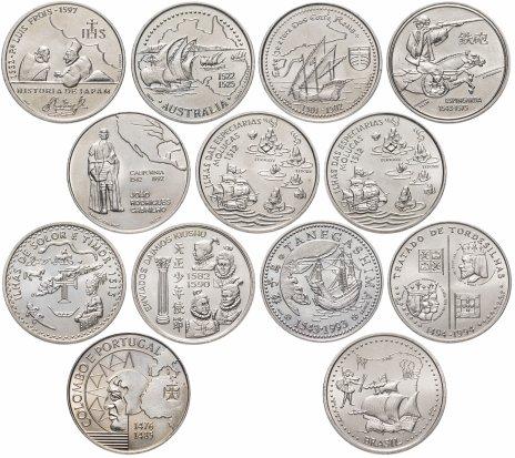 купить Португалия набор из 13 монет 200 эскудо 1991-2000
