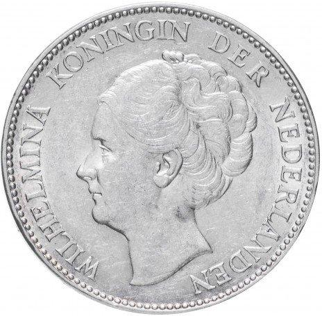 купить Нидерланды 1 гульден 1938