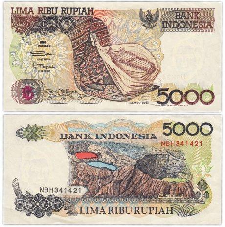 купить Индонезия 5000 рупий 1992 (2001) (Pick 128)