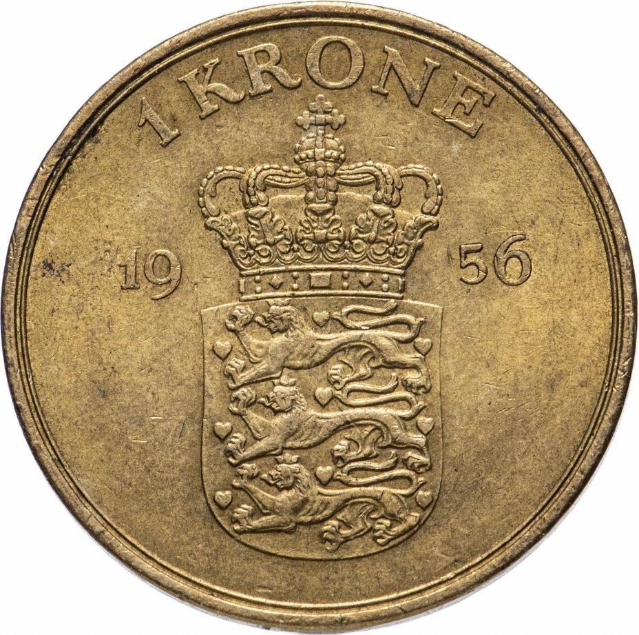 купить Дания 1 крона (crown) 1956