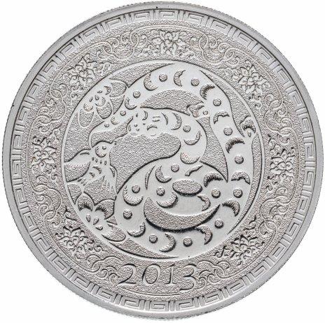 """купить Токелау 5 долларов 2013 """"Китайский гороскоп - Год змеи"""""""
