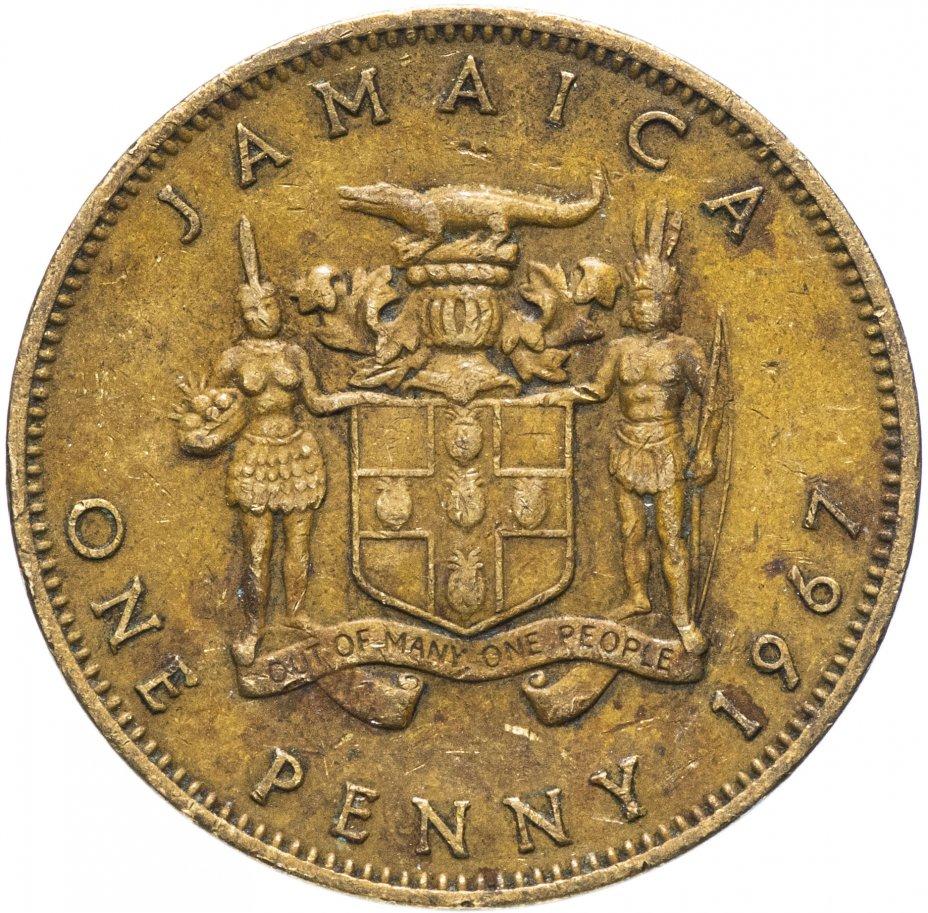 купить Ямайка 1 пенни (penny) 1967