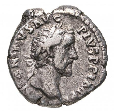 купить Римская империя, Антонин Пий, 138-161 годы, Денарий.