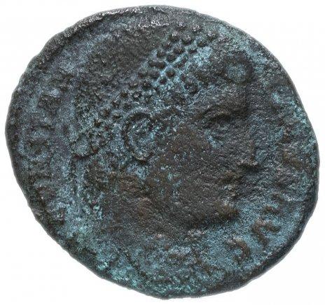 купить Римская Империя Константин I 306-337 гг фракция фоллиса (реверс: крепостная башня с воротами)