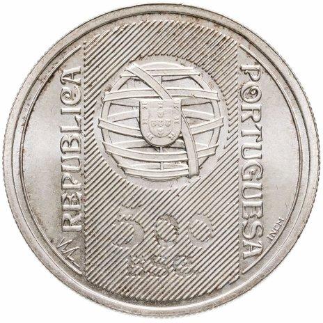"""купить Португалия 500 эскудо (escudos) 1996  """"150 лет банку Португалии"""""""