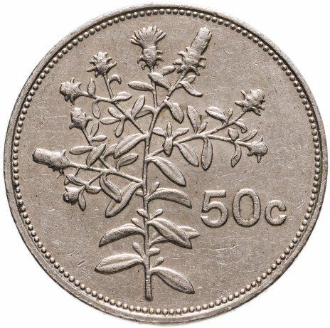 купить Мальта 50 центов (cents) 1986