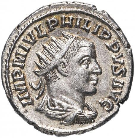 купить Римская империя, Филипп II Араб, 244-249 годы, Антониниан.