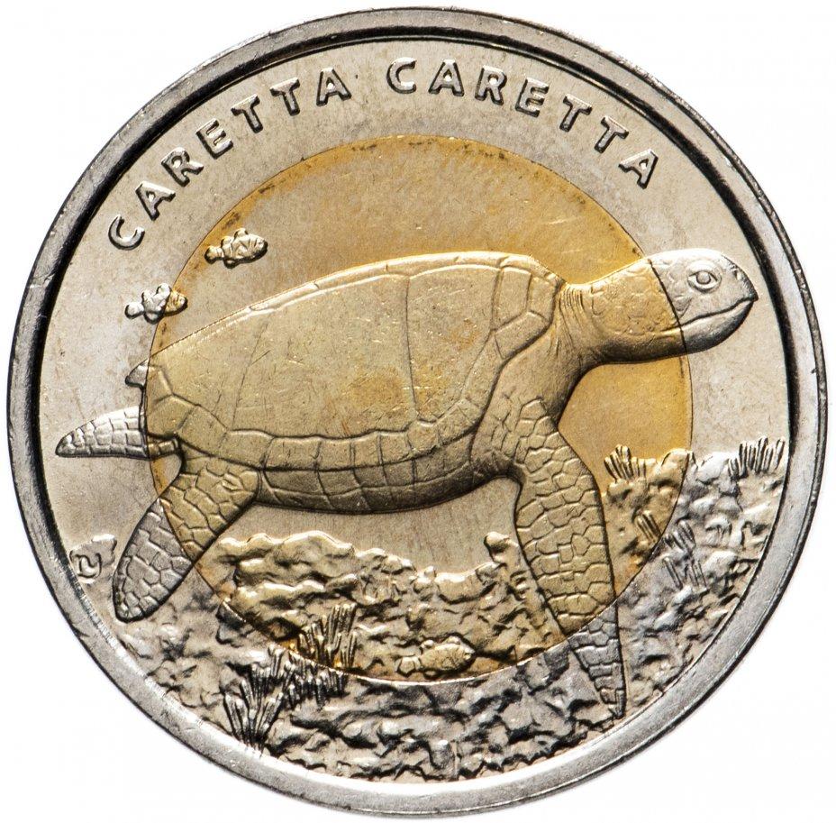 """купить Турция 1 лира 2009 """"Фауна Турции - Черепаха"""""""