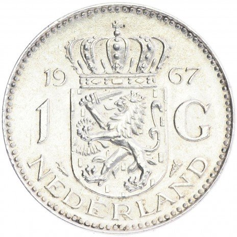 купить Нидерланды 1 гульден 1967