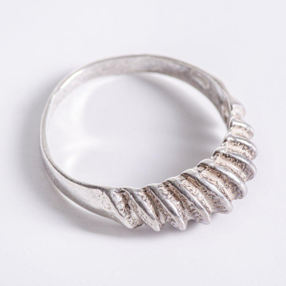 купить Кольцо, стилизованное под плетёную веревку, серебро 925 пр., СССР, 1970-1990 гг.