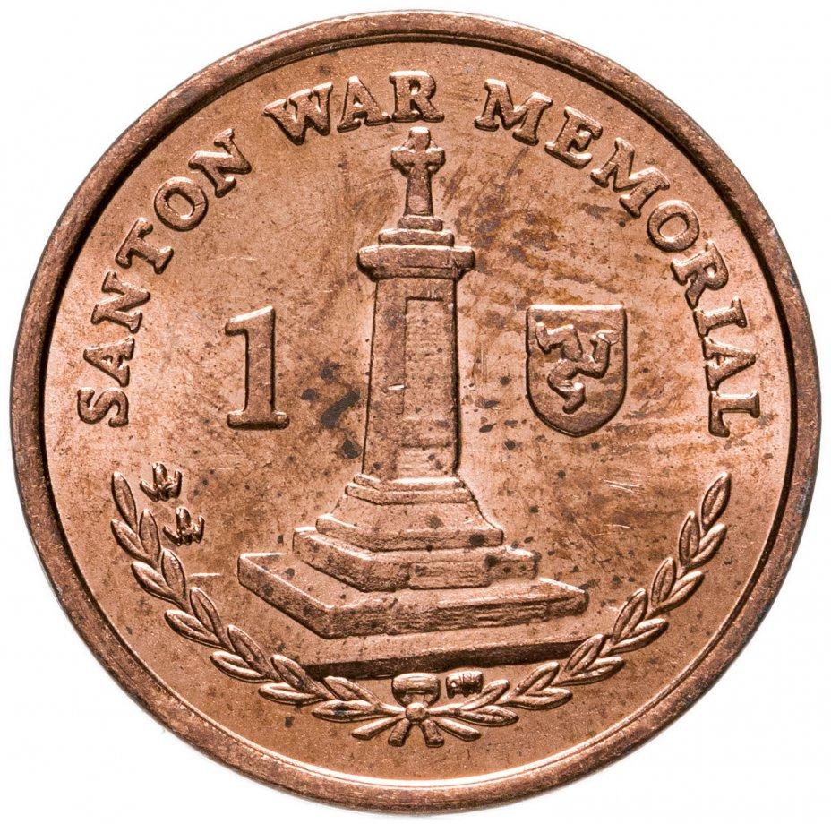 купить Остров Мэн 1 пенни (penny) 2004-2016, случайная дата