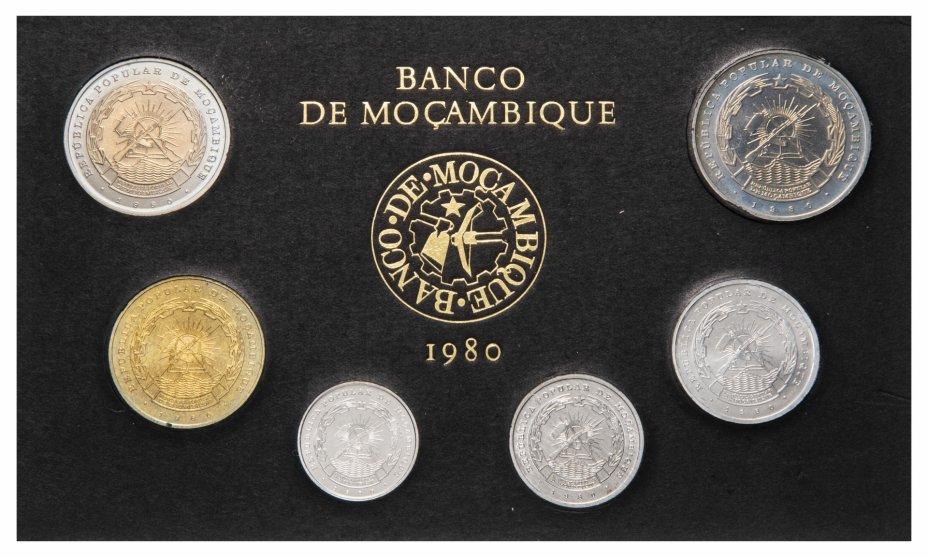купить Мозамбик набор из 6 монет 1980, в футляре