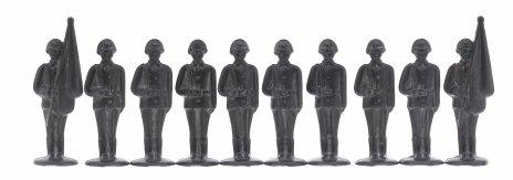 купить Набор солдат оловянных   (10 штук) в подборе, олово, СССР, 1970-1990 гг.