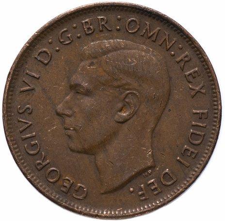 купить Австралия 1 пенни 1949-1952, случайная дата