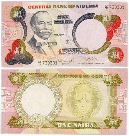 купить Нигерия 1 найра 1984 Pick 23b