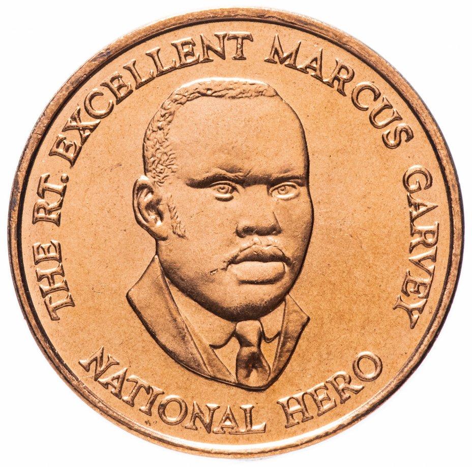 купить Ямайка 25 центов (cents) 1995