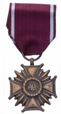 купить Польша Знак отличия бронзовый «Крест Заслуги» 3 степени