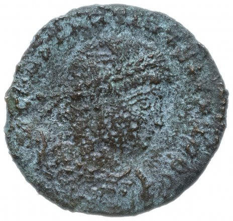 купить Римская Империя, император не установлен, фракция фоллиса (реверс: легенда и изображение не сохранились)
