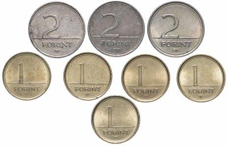 купить Венгрия набор из 8 монет 1993-2007