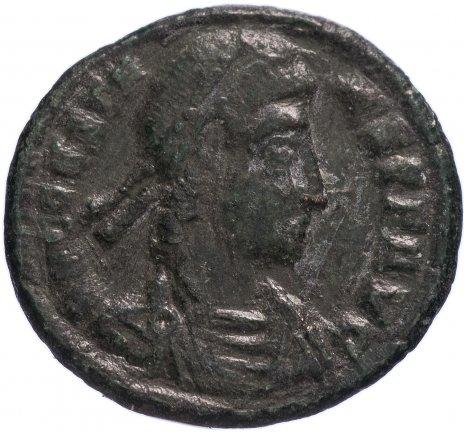 купить Римская Империя Констант 333–350 гг фоллис (реверс: Феникс в лучевой короне стоит вправо)
