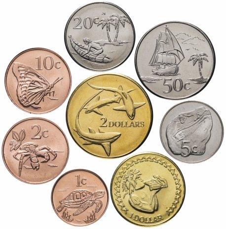 купить Токелау набор из 8-ми монет 2017