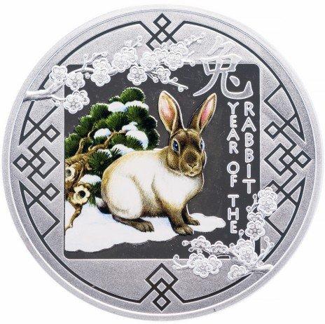"купить Руанда 500 франков 2011 ""Год кролика"""