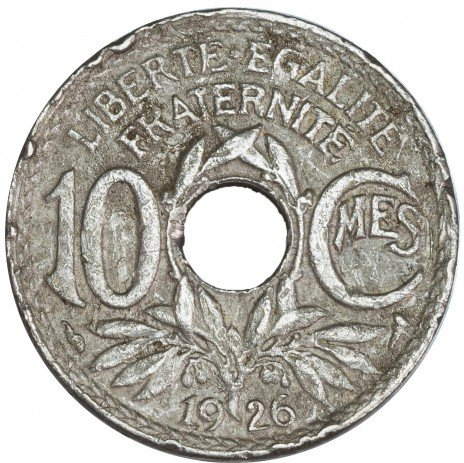 купить Франция 25 сантимов 1926