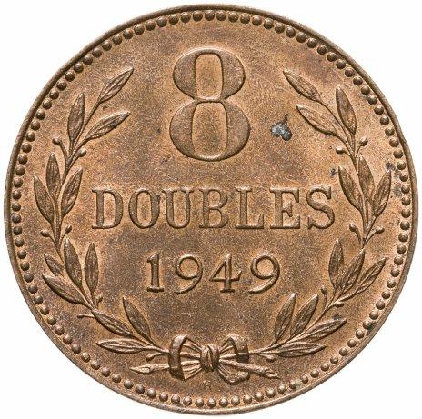 купить Гернси 8 дублей (doubles) 1949