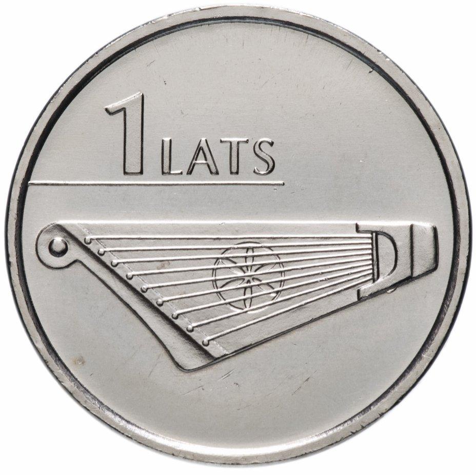"""купить Латвия 1 лат (lats) 2013   """"Гусли"""""""