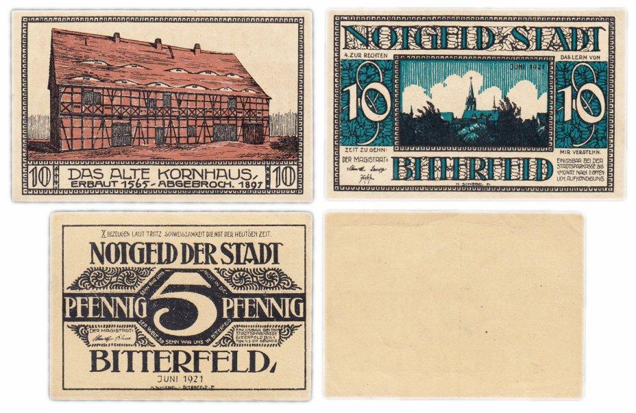 купить Германия (Саксония: Биттерфельд) набор из 2-х нотгельдов 1921