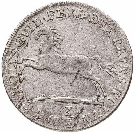 купить Княжество Брауншвейг-Вольфенбюттель 24 мариенгроша (2/3 талера) 1789