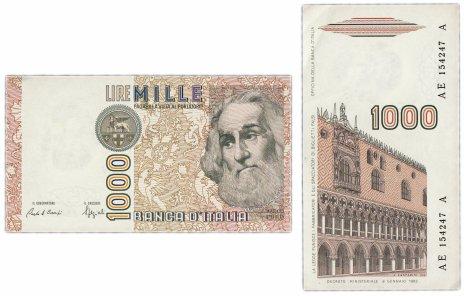 купить Италия 1000 лир 1982 (Pick 109)