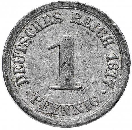 купить Германия 1 пфенниг 1917, случайный монетный двор