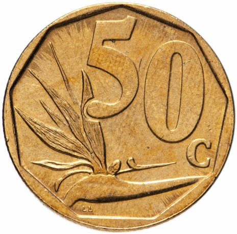 купить ЮАР 50 центов (cents) 2000-2019, случайная дата