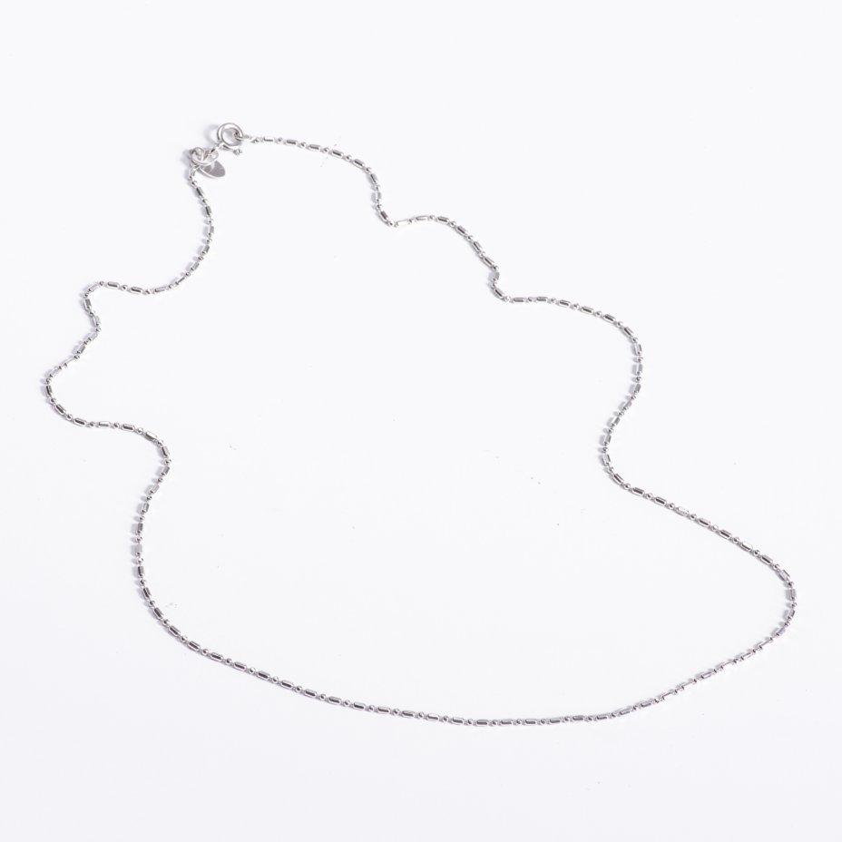 купить Цепочка с геометрическим узором плетения, металл, длина  45 см.,Россия, 2010-2015 гг.