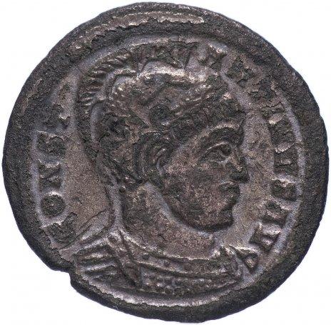 купить Римская Империя Константин I 306–337 гг фоллис (реверс: пленники сидят под штандартом)