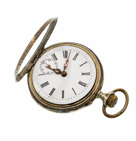 купить Часы карманные c гильошированием и картушем, серебро 800 пр, Швейцария, 1900-1910 гг.