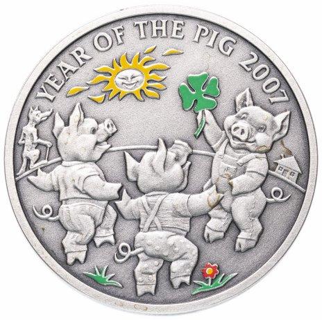 """купить Ниуэ 1 доллар (dollar) 2006 """"Китайский календарь - Год свиньи"""""""