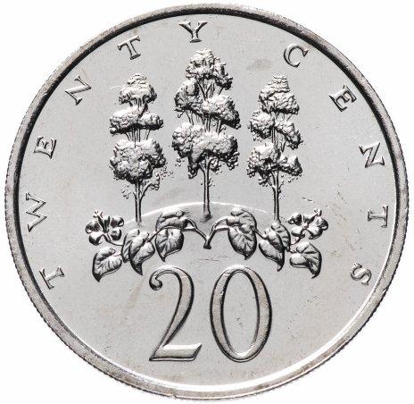 купить Ямайка 20 центов (cents) 1988