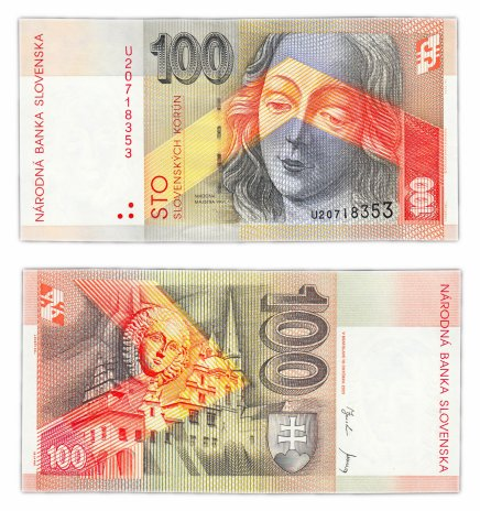 купить Словакия 100 крон 2001
