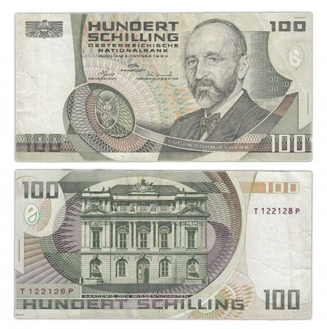 купить Австрия 100 шиллингов 1984 (Pick 150)