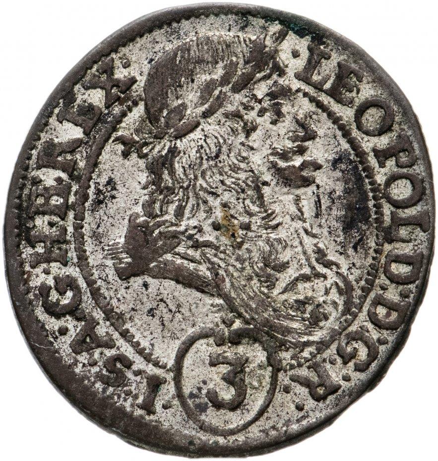 купить Австрия 3 крейцера 1694